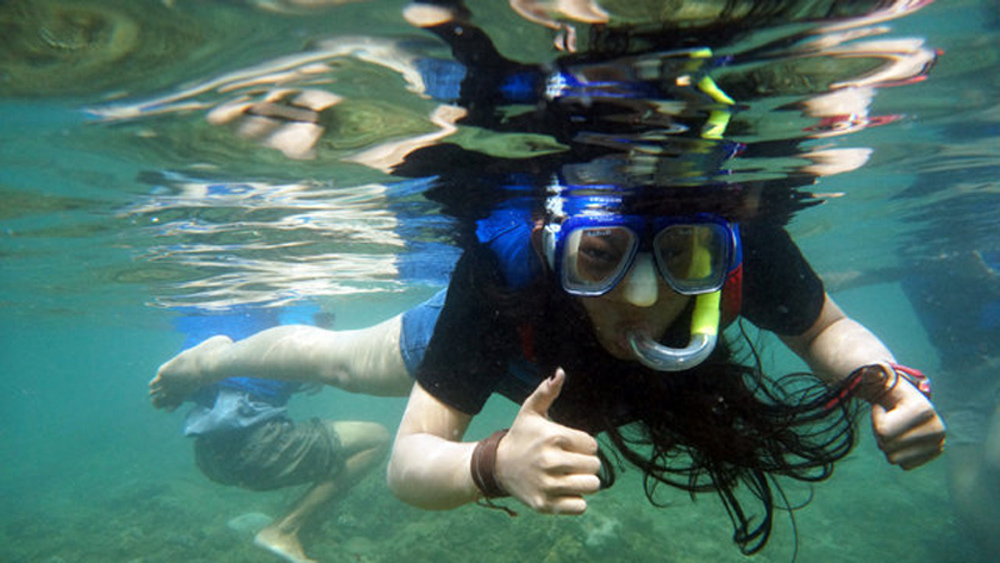 Pangandaran Snorkeling - YOEXPLORE.co.id
