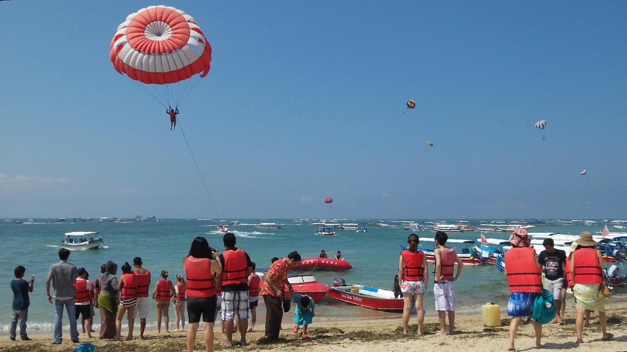 Bali Parasailing Package - YOEXPLORE.co.id