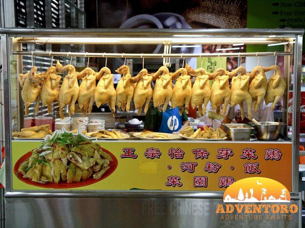 Chicken Rice Imbi Market - makanan lokal malaysia - Explore Asia, YOEXPLORE