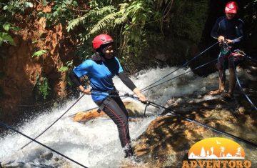ulu geruntum waterfall abseiling - Explore Asia, YOEXPLORE