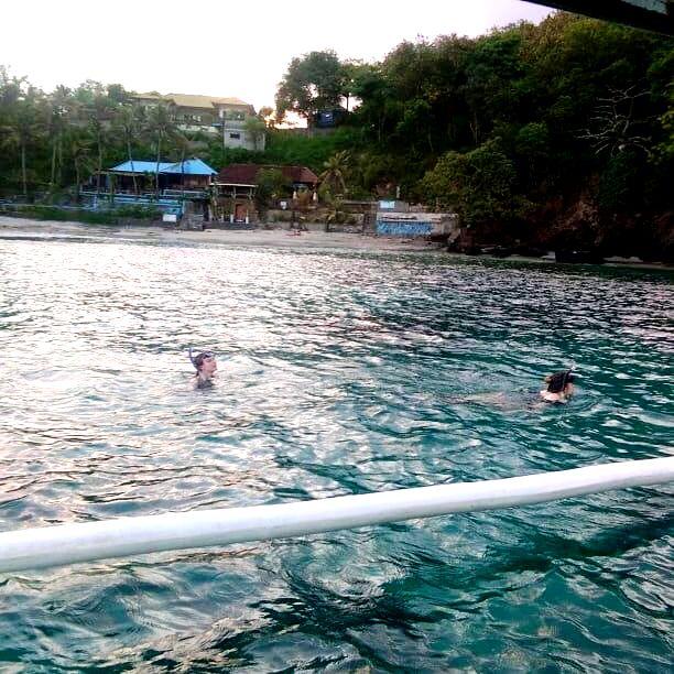 Snorkeling - Blue Lagoon bali fishing - YOEXPLORE.co.id