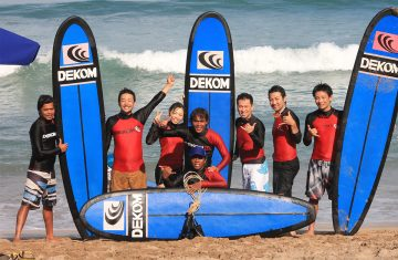 Dekom Surfing School in Bali - Yoexplore- Bali