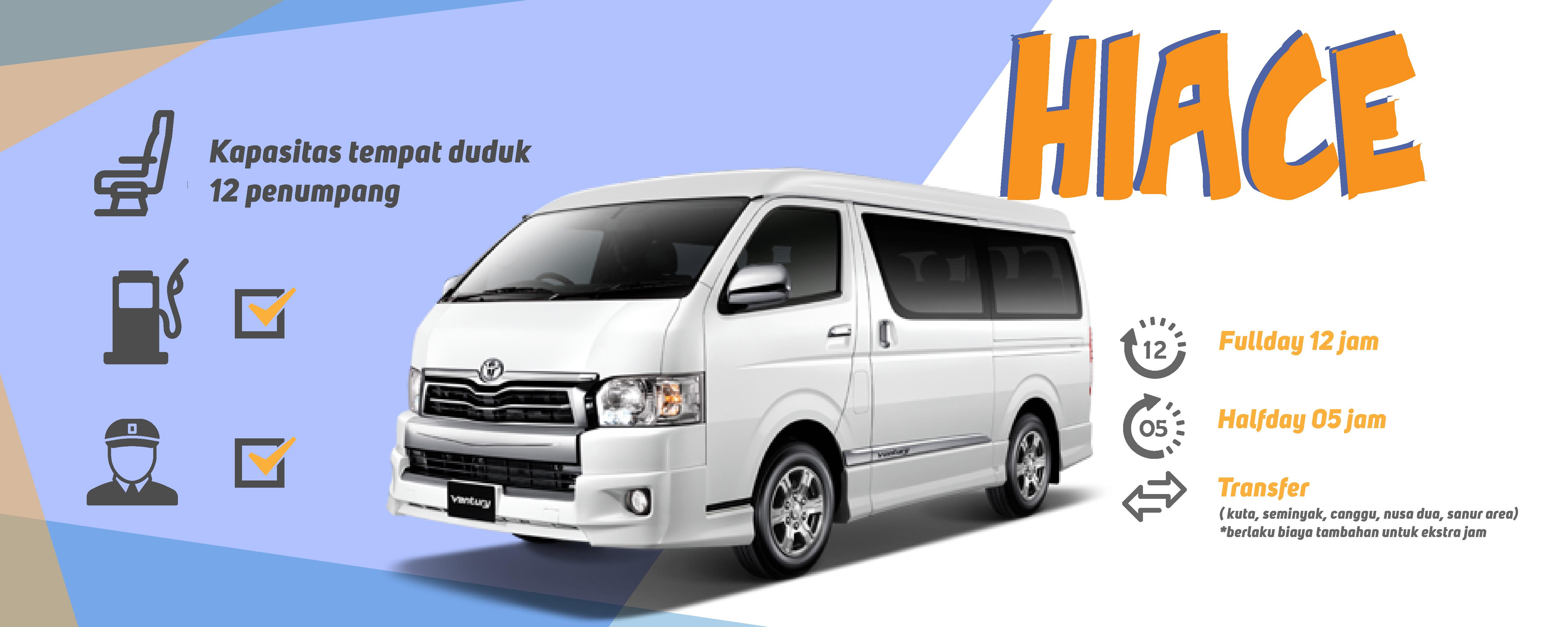 Hiace-minibus rental bali- Yoexplore.co.id