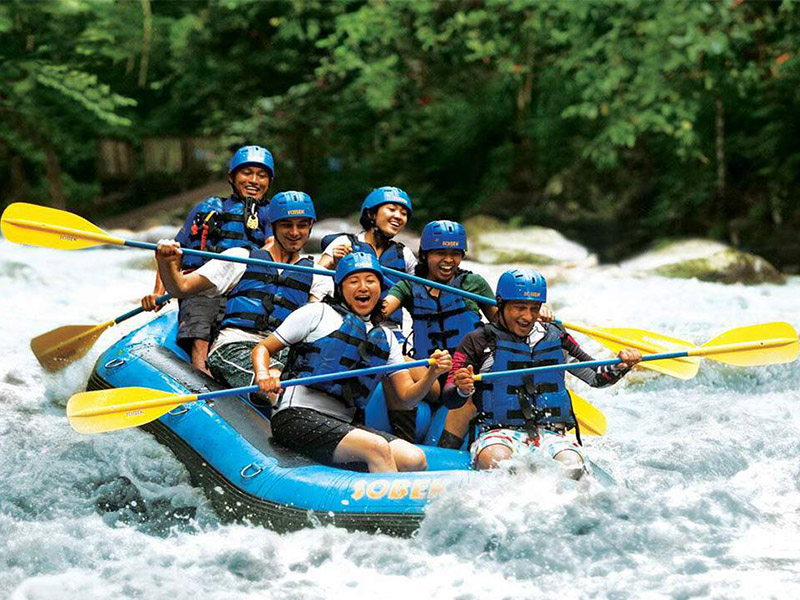 Yoexplore_Family trips_Adventure in Ubud_Rafting
