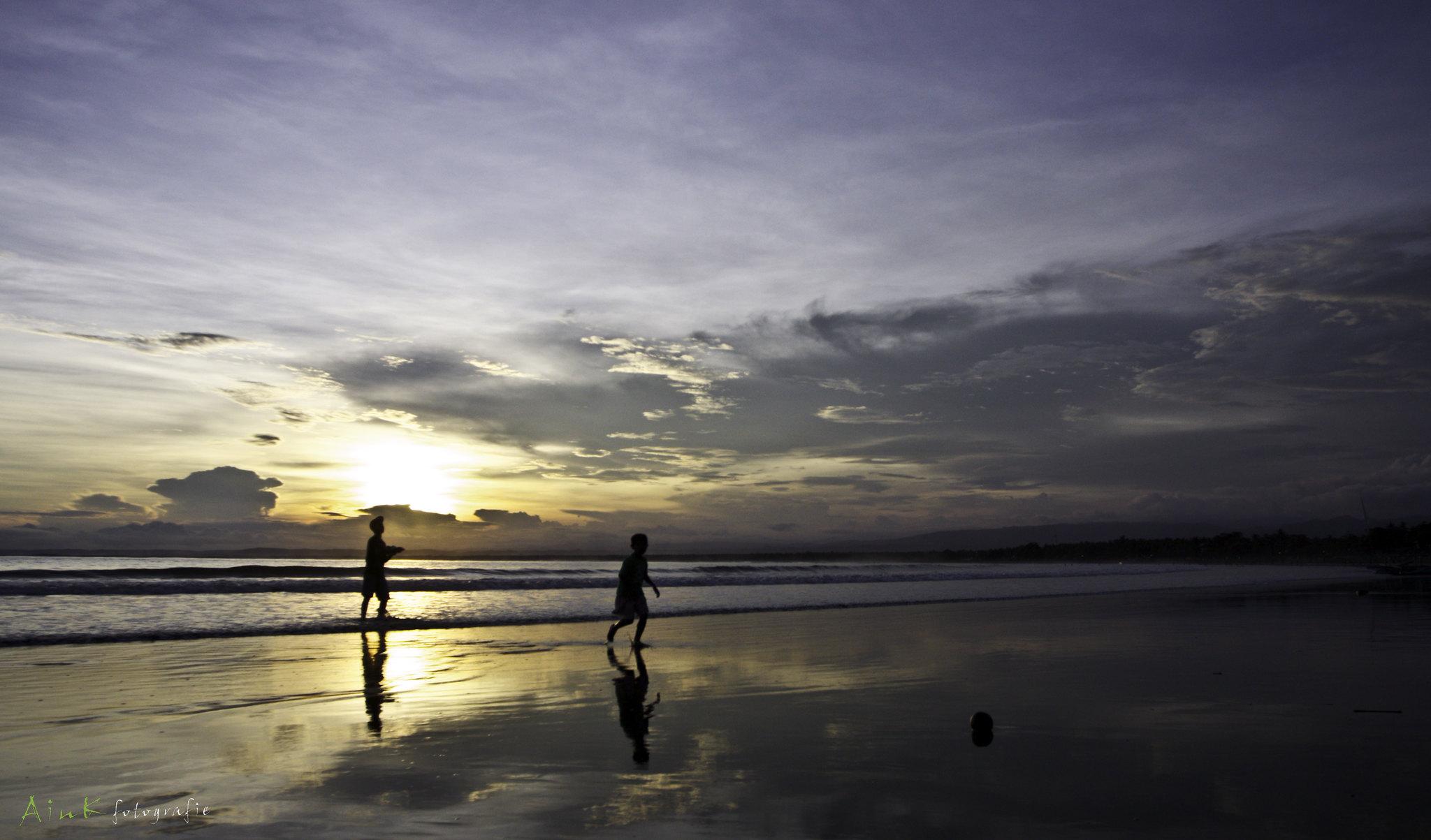 sunset-at-Pangandaran